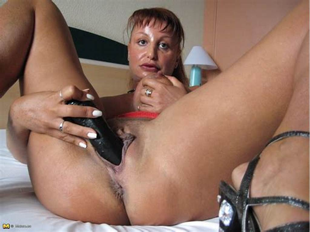 #This #Horny #Mature #Nympho #Loves #To #Play #With #Her #Toys
