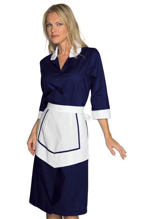 tenue de femme de chambre ensemble femme de chambre blouse et tablier bleu blanc