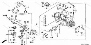 Honda Scooter 2003 Oem Parts Diagram For Throttle Body