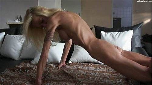 Slender Granny On Teenage #Very #Skinny #Anorexic #Mature #Poser
