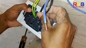 Power Socket Installation And Power Socket Outlet Connection