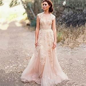 boho wedding dress plus size wwwimgkidcom the image With robe mariage nude