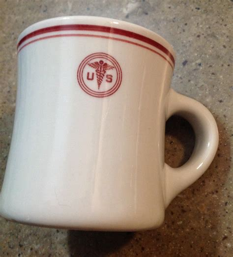 Coffee mug military air force air national guard new 14 ounce cup with gift box. Vintage US Army Medical Coffee Mug Shenango Souvenir ...