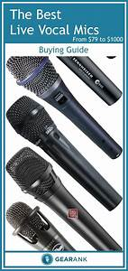 Detailed Guide To The Best Live Vocal Mics