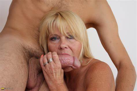 Large Tit Blond Milf Oral