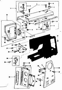 Kenmore 3851788180 Electronic Sewing Machine Parts