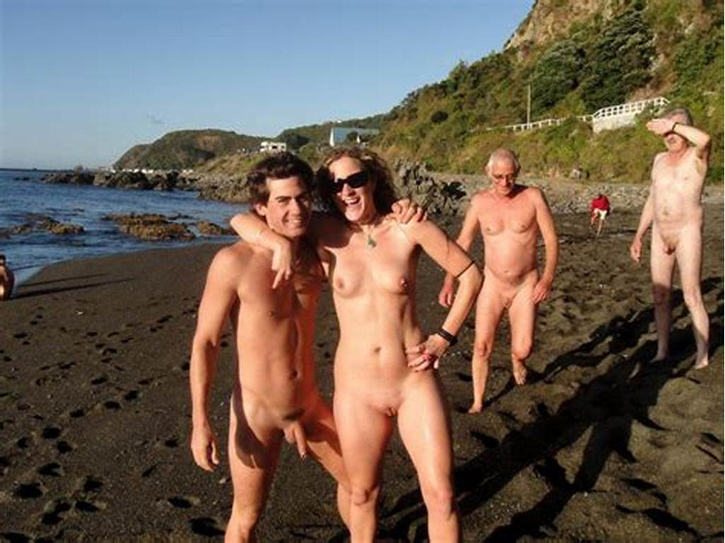 #Teen #Nude #Couple #On #A #Nude #Beach #Showing #Girl'S #Big #Firm