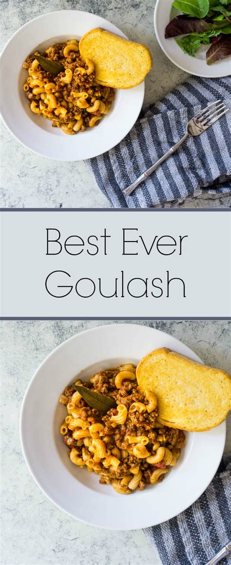 Best Ever Goulash | Purely Easy