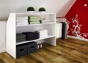 meuble de rangement sous comble licorne meuble de With meubles pour sous combles