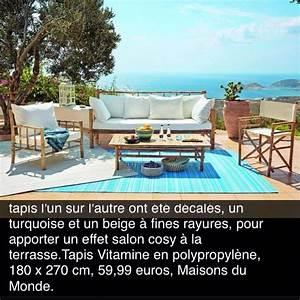 Tapis D Extérieur Maison Du Monde : tapis d 39 exterieur maisons du monde 180x270 60 jardin ~ Melissatoandfro.com Idées de Décoration
