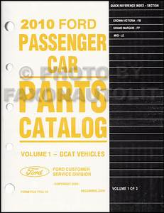 2010 Crown Victoria  U0026 Grand Marquis Wiring Diagram Manual