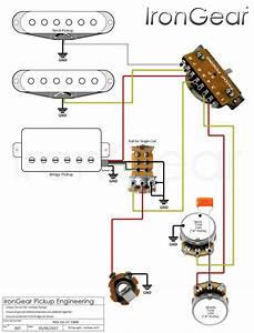 Emg Select Humbucker Split Coil Wiring Diagram