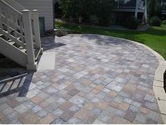 Adding Pavers To Concrete Patio Decorate Paver Patio
