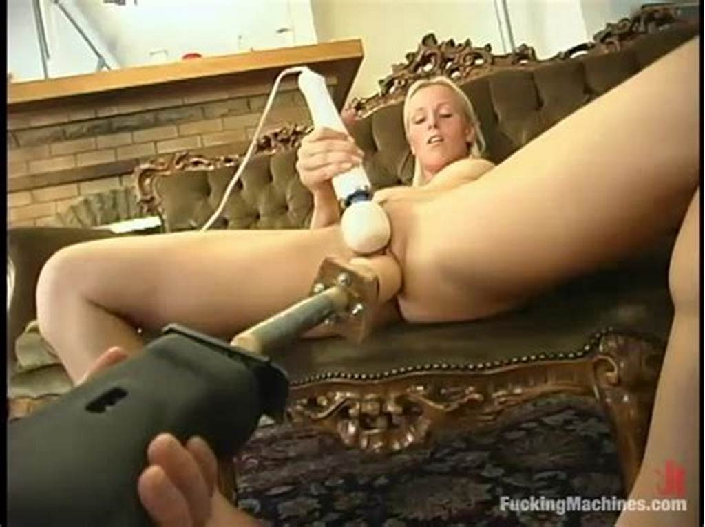 #Blonde #Honey #Gets #Her #Pussy #Destroyed #By #Various #Fucking