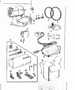 Motor And Attachment Parts Diagram  U0026 Parts List For Model
