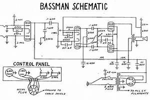 Fender Bassman Tube Amp Schematic
