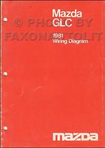 1981 Mazda Glc Sedan And Hatchback Wiring Diagram Manual