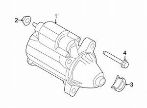 Ford Transit Connect Starter Motor