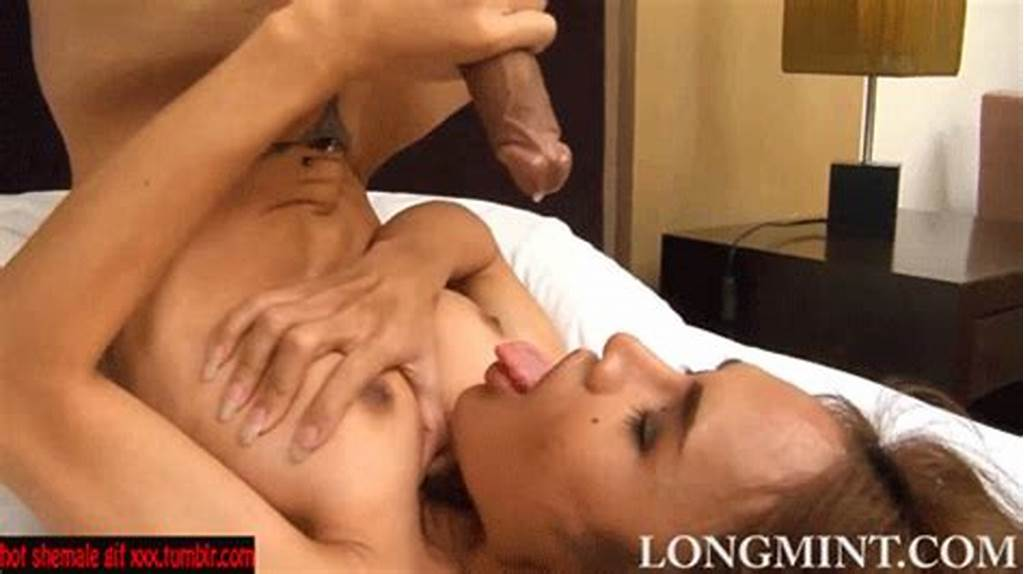 #Cumshot #Cum #In #Own #Mouth #Shemale #Tranny #Ladyboy #Animated