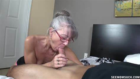 Sensual Big Grey Haired Youthful Gives Pussy Licking And Fucking Cummed