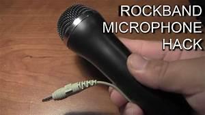 Rock Band Microphone Hack
