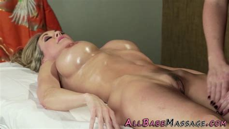 Oiled Up Lesbian Massage