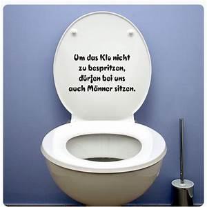 Aufkleber Für Toilettendeckel : klospruch aufkleber f r wc deckel sticker wandtattoo bad klodeckel spruch tda027 ebay ~ Orissabook.com Haus und Dekorationen