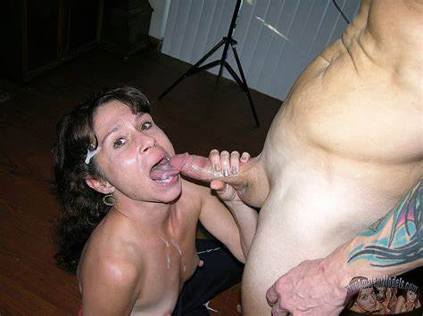 Homemade Model Facialed Orgasm After Club