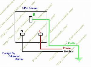 How To Wire 3 Pin Socket    Outlet