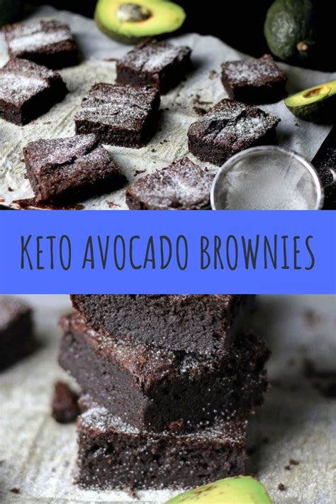 Easily add recipes from yums to the meal double chocolate keto overnight oats for breakfast healthful pursuit. KETO AVOCADO BROWNIES RECIPE #keto #ketorecipes #ketodiet ...