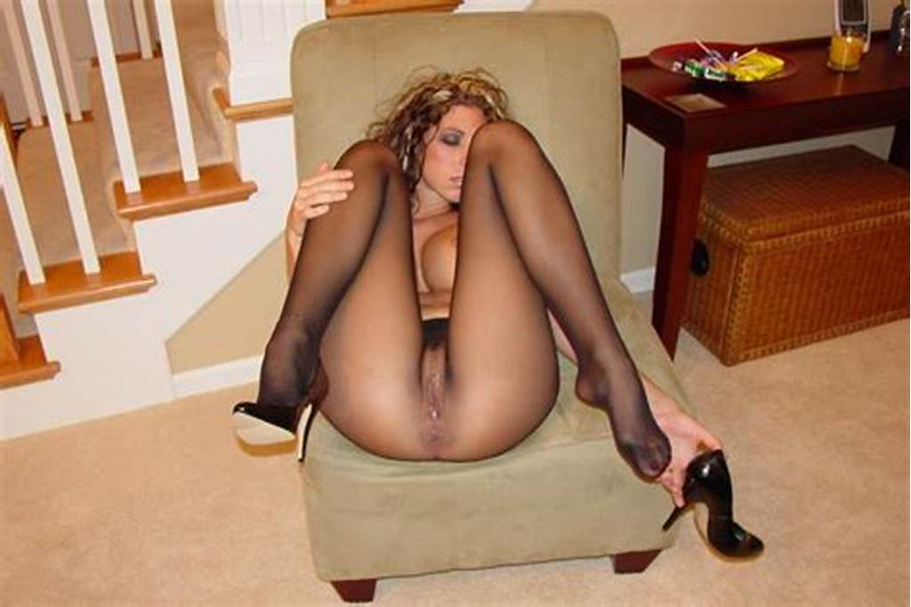 #Curly #Slut #In #Seamless #Pantyhose