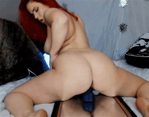 Bigtit Teenage Riding A Dildo #Big #Booty #Redhead #Riding #That #Dildo #On #Webcam #Gif