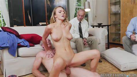 Blond Banged Dirty With Male