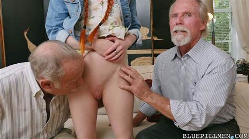 #Old #Bearded #Perv #Hooks #Up #With #Tight #Ginger #Teen #Dolly #Little