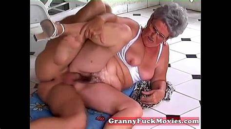 Hungarian Granny Likes Pounds Fucking Outdoors