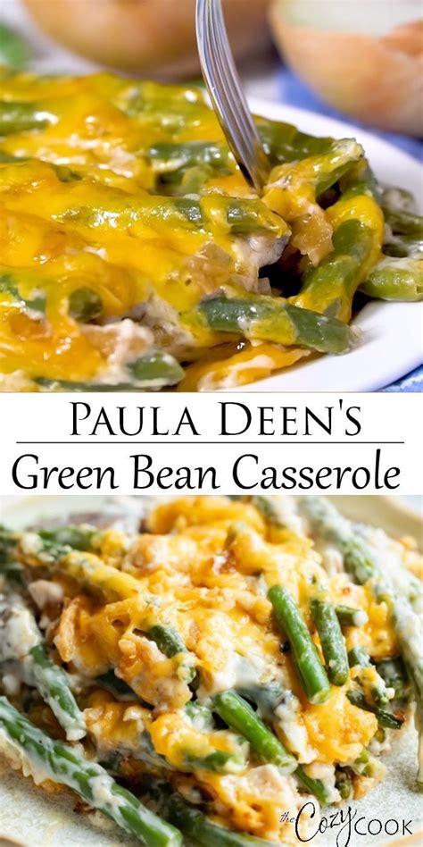 Try paula deen's favorite gingerbread cookie recipe. Paula Deen's Green Bean Casserole   Greenbean casserole ...