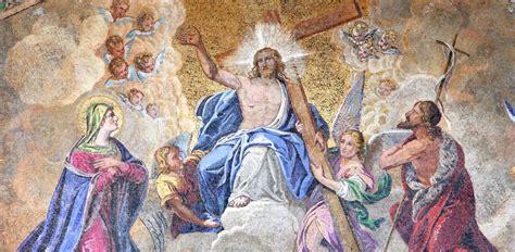 Himmelfahrt christi feiert die rueckkehr jesu christi in den himmel nach seiner kreuzigung und auferstehung. Christi Himmelfahrt - Christlicher Feiertag zwischen ...