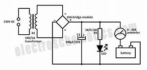 10 Wiring Diagram 12v Sik : simple 12 volt charger circuit ~ A.2002-acura-tl-radio.info Haus und Dekorationen