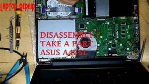 Disassembly Asus A455l