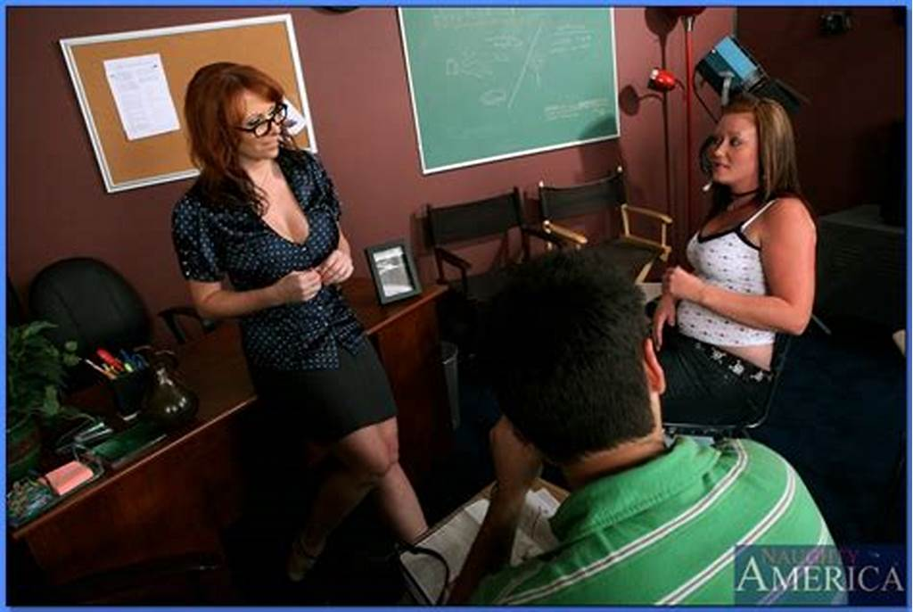 #Redheaded #Milf #Teacher #Kylie #Ireland #Takes #A #Huge #Cock #In