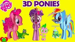 My Little Pony Bettwäsche : my little pony 3d pony pinkie pie twilight sparkle and rainbow dash youtube ~ Watch28wear.com Haus und Dekorationen