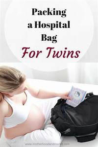 Packing A Hospital Bag For Twins