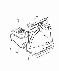 Dodge Grand Caravan Bottle  Pressurized Coolant  Engine