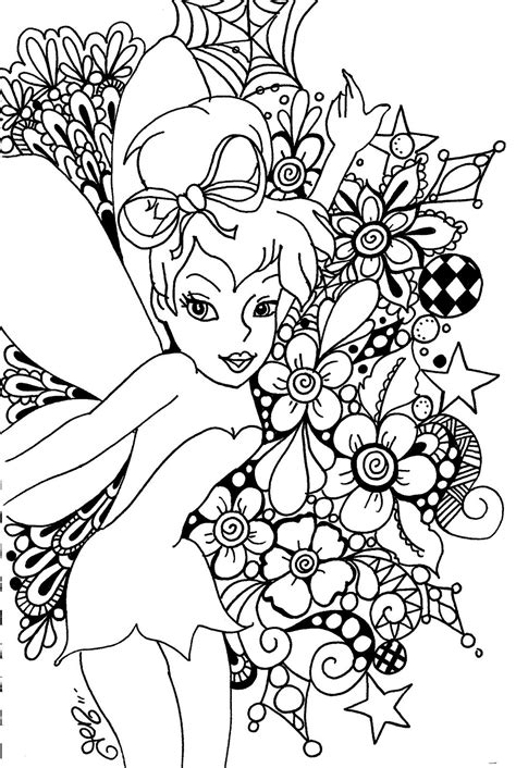 23 Of the Best Ideas for Coloring Pages for Adults Fairy