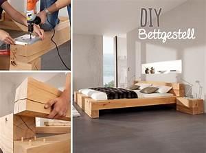 Massivholz Bett Selber Bauen Anleitung : massiv blox holzbalken diy bed frame diy bed diy furniture ~ Watch28wear.com Haus und Dekorationen