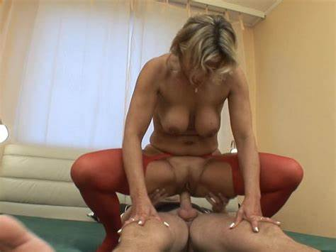 Granny Pounded With Younger Loverboy
