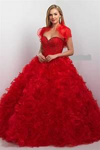 robe de mariee jacket 2016 princess wedding dresses red With de robe de mariée