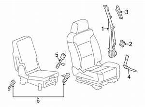 Gmc Sierra 1500 Seat Belt Pretensioner  Tensioner  Front