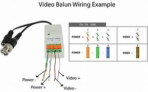 Passive Video Balun  Terminal Type  For Ccd Cameras  Power Converted - Camera Side