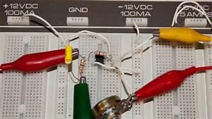 741 Op Amp Demo Circuits